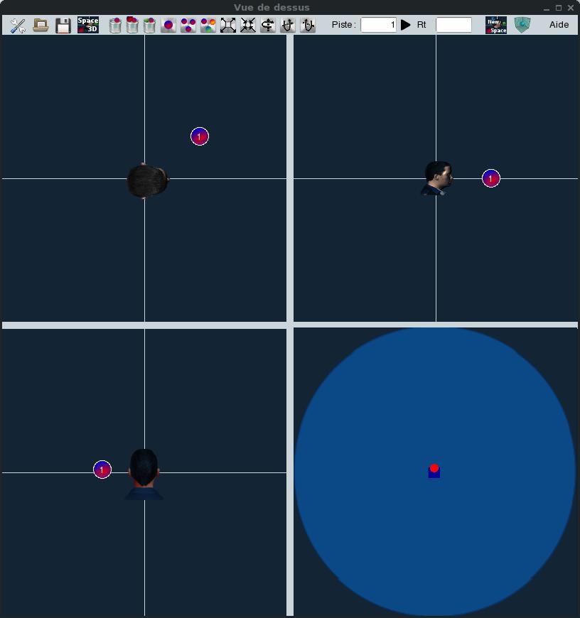 multiSpace3D